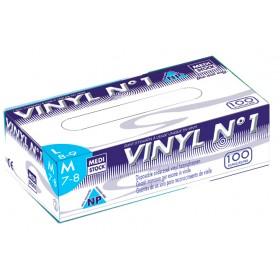 Gants vinyl non poudrés